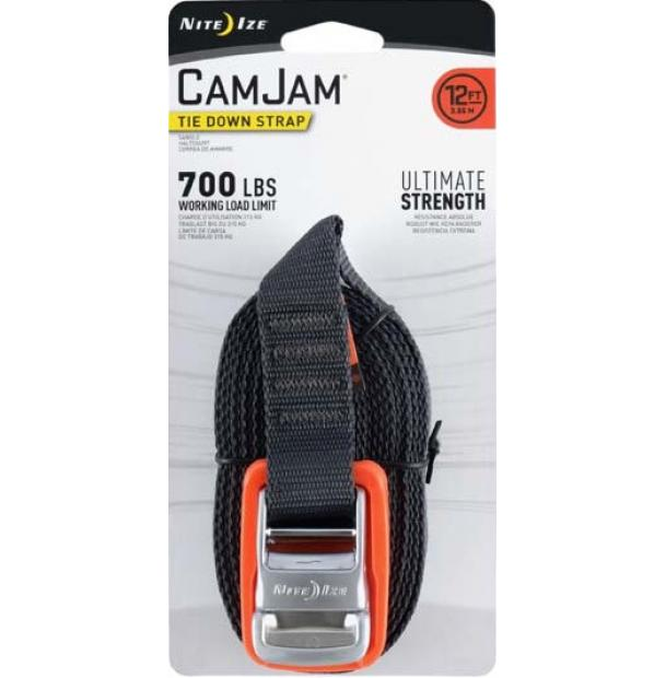 Крепление Nite Ize CamJam Tie Down Strap ND 12 ft