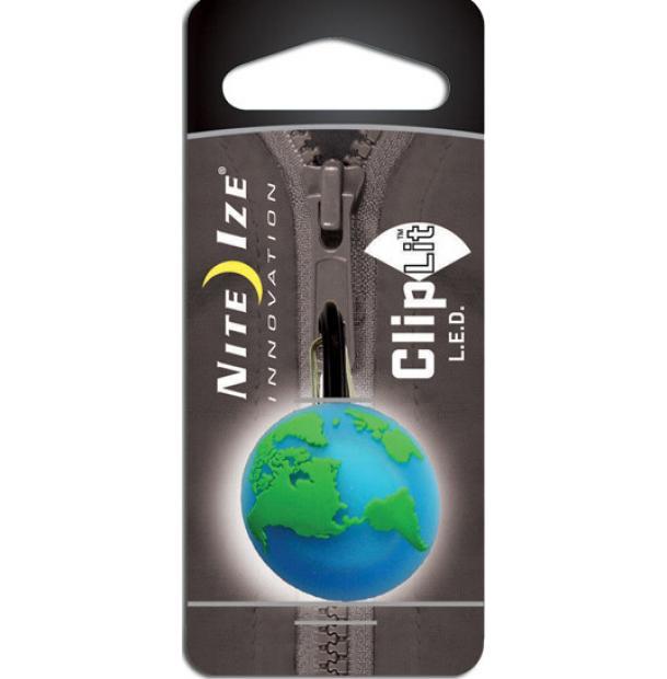 Фонарь-брелок Nite Ize Cliplit Green Earth/White
