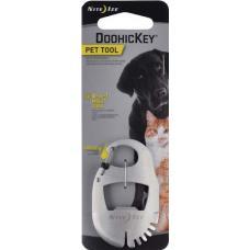 Мультитул-брелок для ухода за питомцем Nite Ize DoohicKey Pet Tool