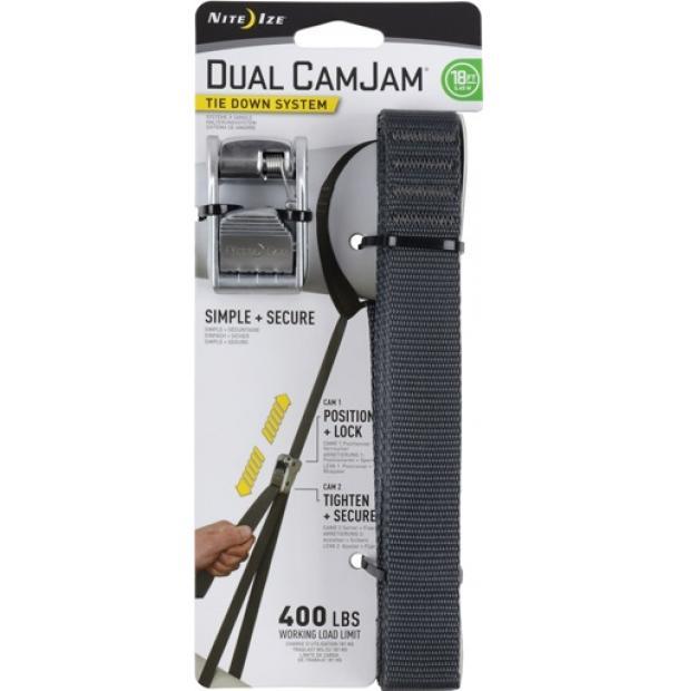 Крепление Nite Ize Dual CamJam Tie Down System 18 ft