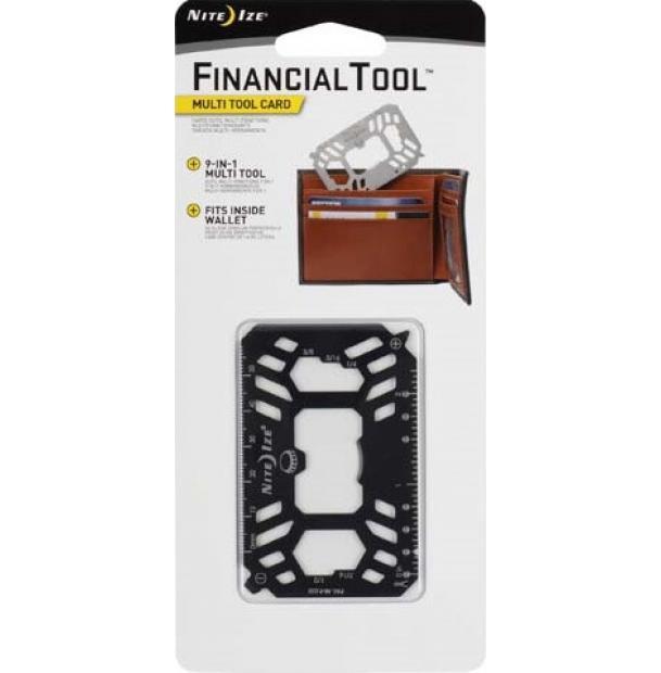 Мультитул Nite Ize Financial Tool Multi Tool Card Black