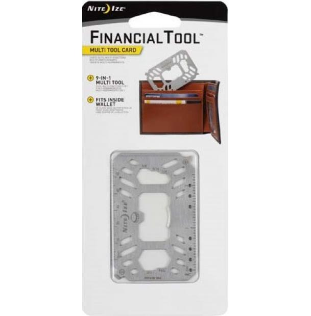 Мультитул Nite Ize Financial Tool Multi Tool Card Stainless