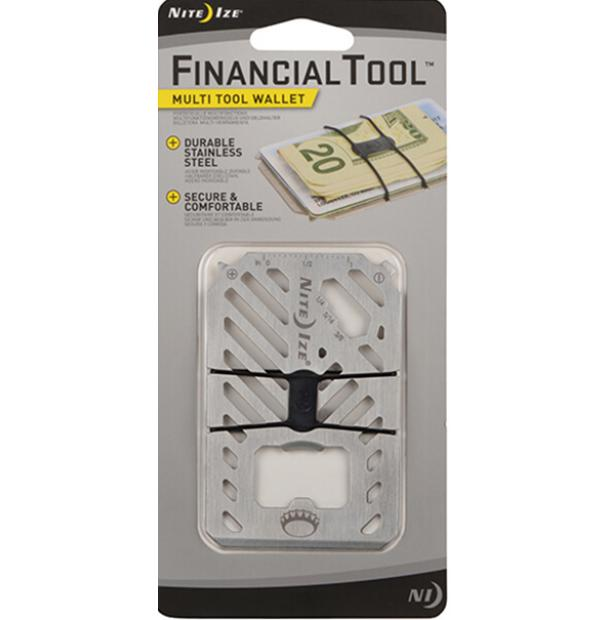 Мультитул Nite Ize Financial Tool Stainless