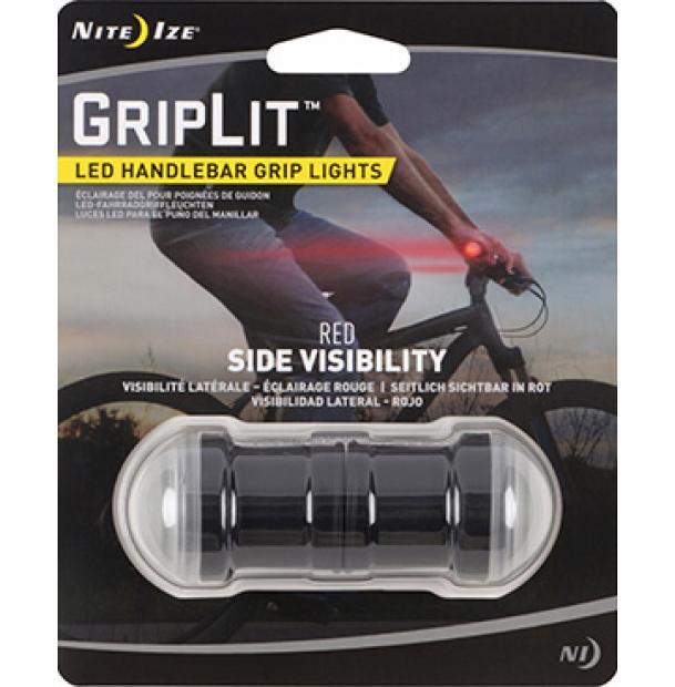 Светодиодный маркер фонарь на руль Nite Ize GripLit LED Handlebar Red GLT-10-R7
