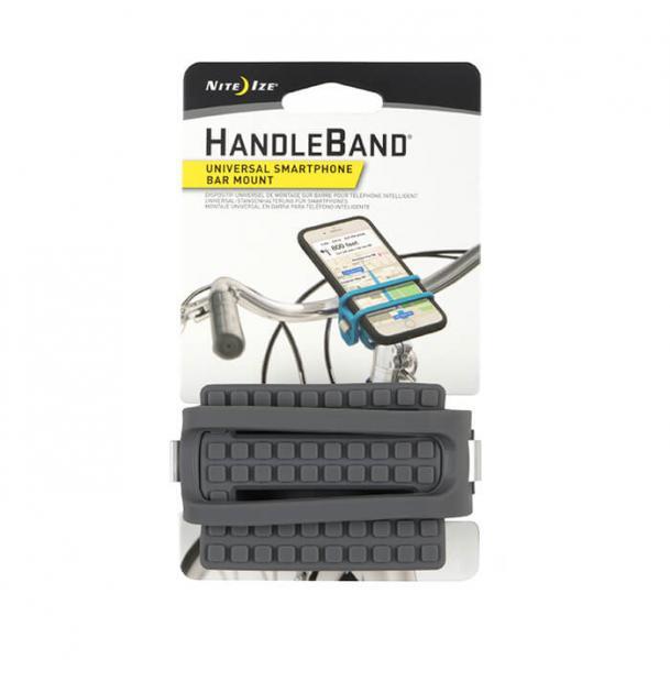 Велосипедный держатель для телефона Nite Ize HandleBand Universal Smartphone Bar Mount Grey HDB2-09-R3