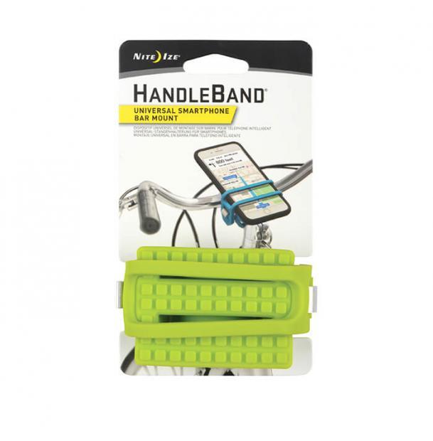 Велосипедный держатель для телефона Nite Ize HandleBand Universal Smartphone Bar Mount Lime