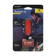 Велосипедный фонарь Nite Ize Radiant 50 Bike Light Red