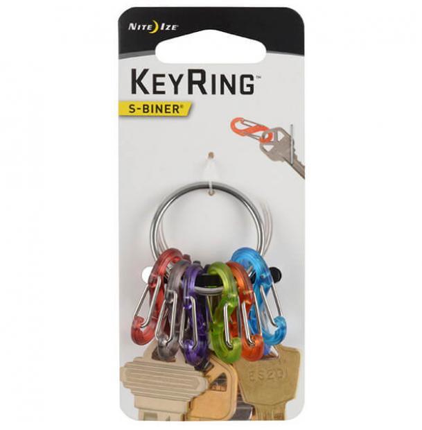 Набор карабинов Nite Ize S-Biner KeyRing