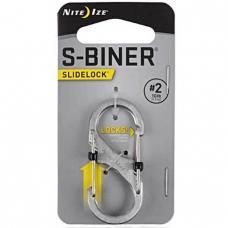 Карабин Nite Ize S-Biner SlideLock #2 Stainless