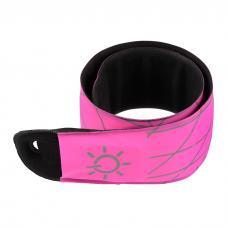 Светодиодная повязка Nite Ize SlapLit LED Slap Wrap Neon Pink