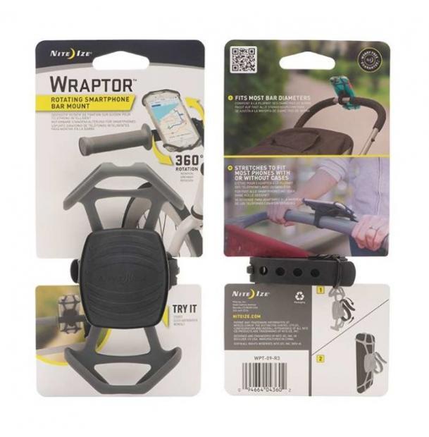 Велосипедный держатель для телефона Nite Ize Wraptor Bar Mount WPT-09-R3
