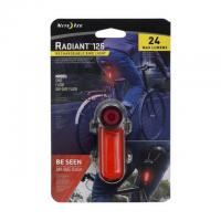 Велосипедный фонарь NiteIze Radiant 125 Rechargeable Bike Light Red