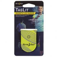 Светодиодный маркер NiteIze TagLit Magnetic LED Marker Neon Yellow