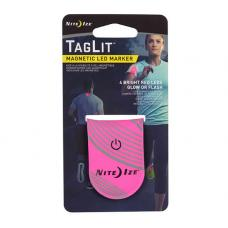 Светодиодный маркер NiteIze TagLit Magnetic LED Marker Pink