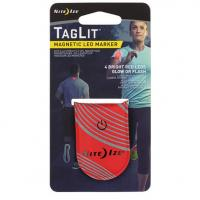 Светодиодный маркер NiteIze TagLit Magnetic LED Marker Red