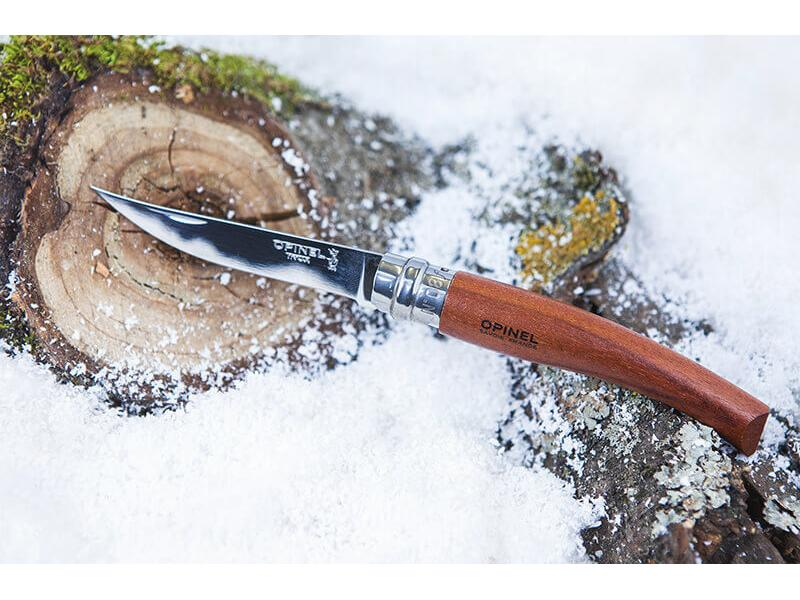 Opinel No.8 Slim Bubinga Wood
