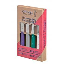 Набор из 4 ножей Opinel Art Deco 4 Essentials Knives Box Set