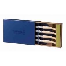Набор из 4 ножей Opinel Ash Knives Chic Table Box Set