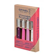 Набор из 4 ножей Opinel Primarosa 4 Essentials Knives Box Set