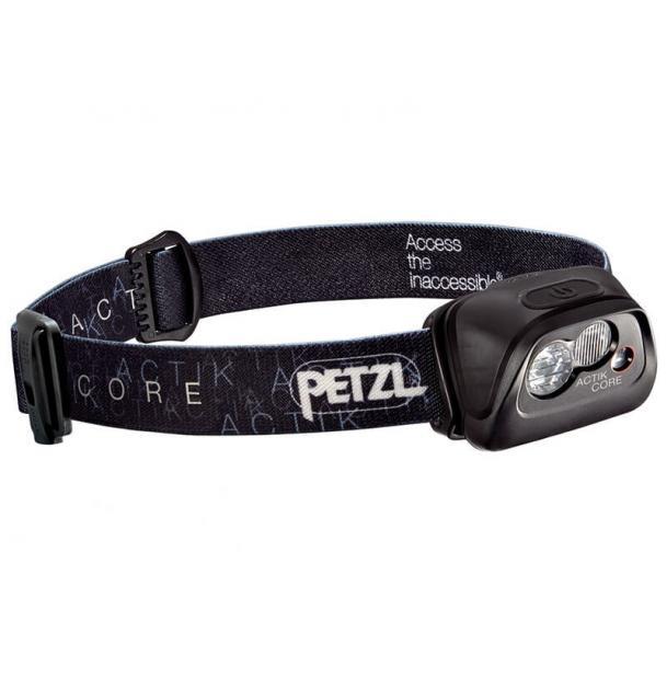 Налобный фонарь Petzl ACTIK CORE Black