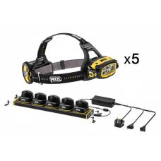 Набор налобных фонарей Petzl DUO Z1 5 шт + зарядное устройство E80DHR