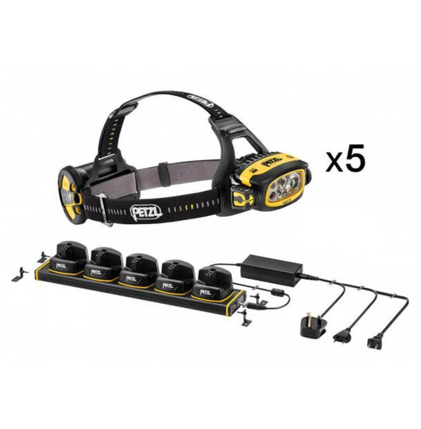Petzl DUO Z1 - набор из 5 фонарей и зарядного устройства