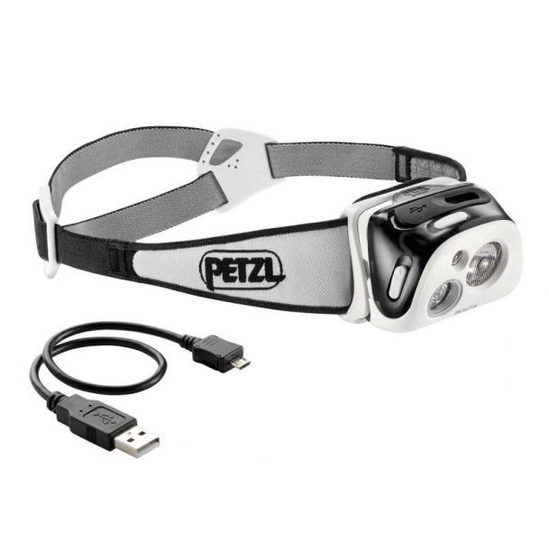 Налобный фонарь Petzl REACTIK Black E92 HNE