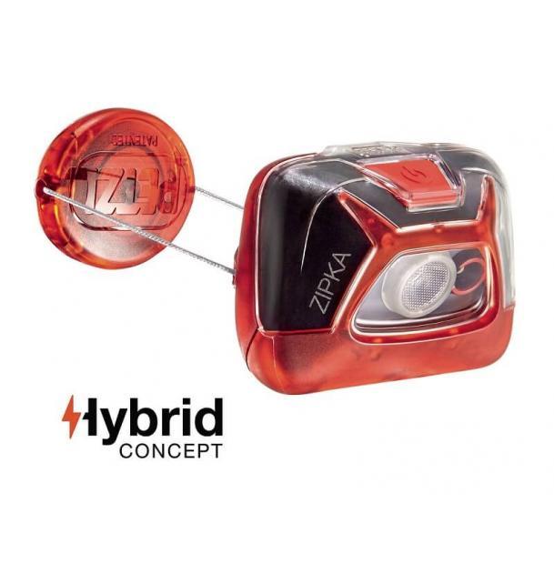 Налобный фонарь Petzl ZIPKA Red E93ABB