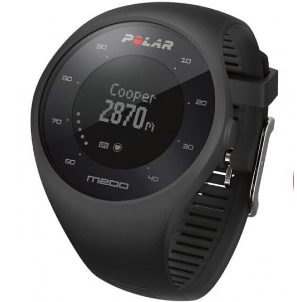 Часы Polar M200 Black HR с датчиком пульса