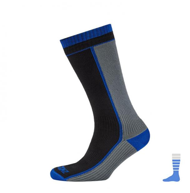 Носки водонепроницаемые SealSkinz AB Mid Weight Mid Length Sock Black L