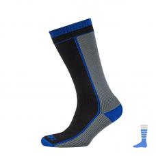 Носки водонепроницаемые SealSkinz AB Mid Weight Mid Length Sock Black M