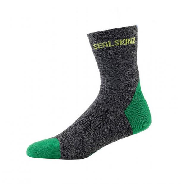 Носки SealSkinz MTB Trail Ankle Anthracite S-M