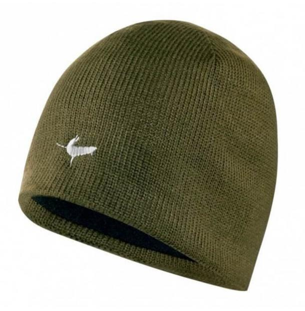 Шапка водонепроницаемая SealSkinz Waterproof Beanie Hat Olive XXL