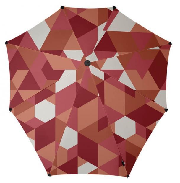Зонт-трость Senz Original African Red Blocks