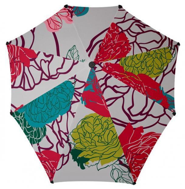 Зонт-трость Senz Original Floral Parade