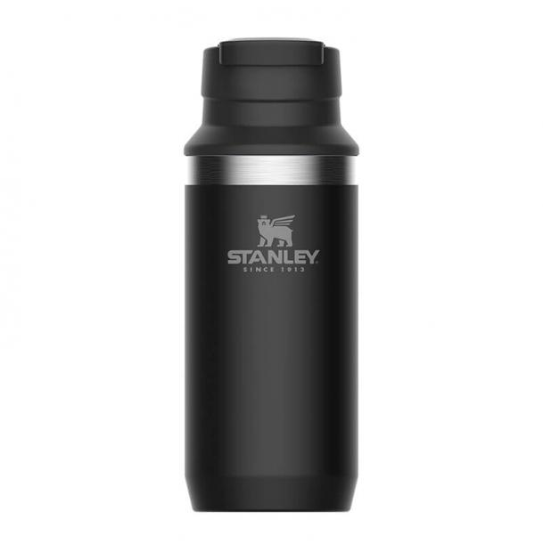 Термостакан Stanley Adventure 0.35L Vacuum Switchback Mug Matte Black