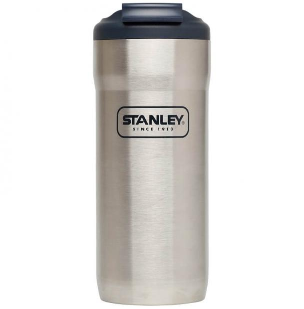 Термокружка Stanley Adventure 0.47L Vacuum Lock Mug Steel 10-02115-002