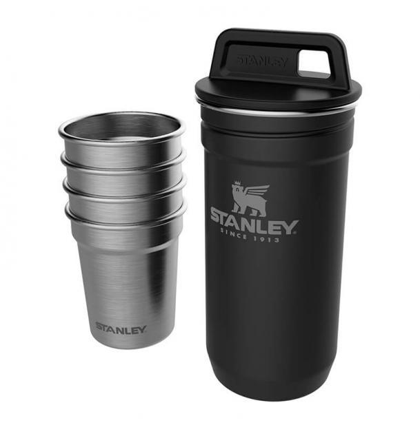 Набор стопок Stanley Adventure 0.59L SS Shot Glass Set Black