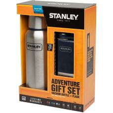 Набор Stanley Adventure 0.75L Stainless Steel + Pocket Flask 0.15L Hammertone Navy