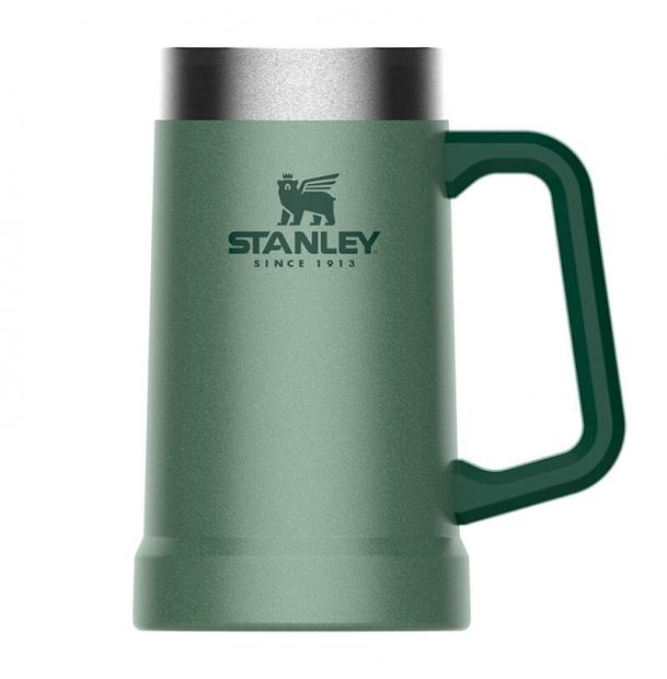 Термокружка Stanley Adventure 0.7L Vacuum Stein Hammertone Green