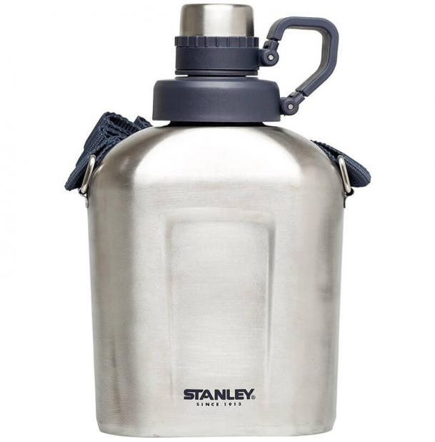 Фляга Stanley Adventure 1L Steel Canteen Stainless