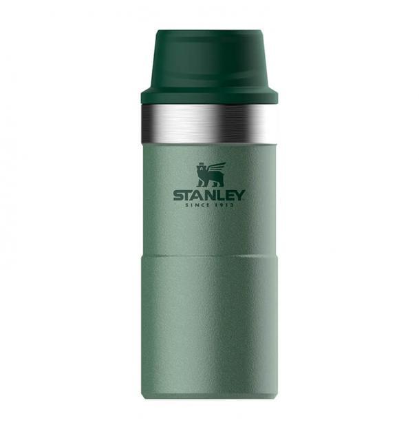 Термостакан Stanley Classic 0.35L One Hand 2.0 Vacuum Mug Hammertone Green