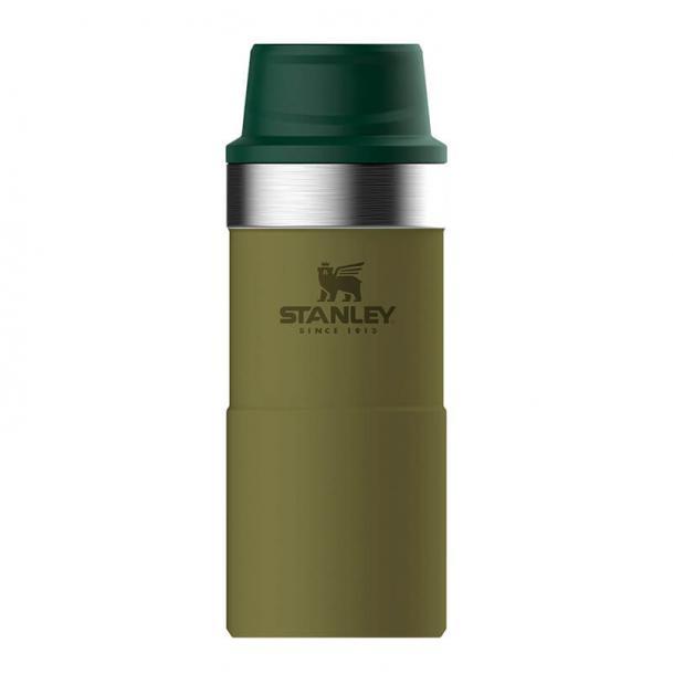 Термостакан Stanley Classic 0.35L One Hand 2.0 Vacuum Mug Olive