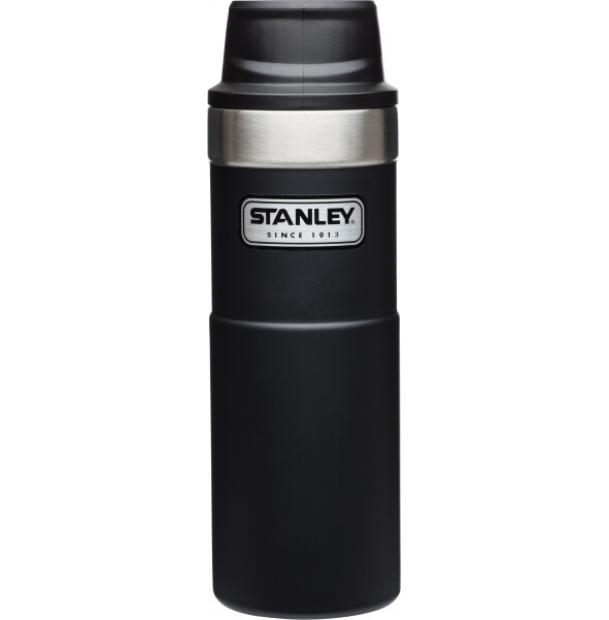 Термостакан Stanley Classic 0.47L One Hand 2.0 Vacuum Mug Black