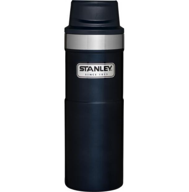 Термостакан Stanley Classic 0.47L One Hand 2.0 Vacuum Mug Navy