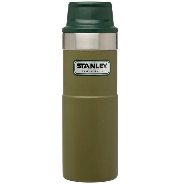 Термостакан Stanley Classic 0.47L One Hand 2.0 Vacuum Mug Olive