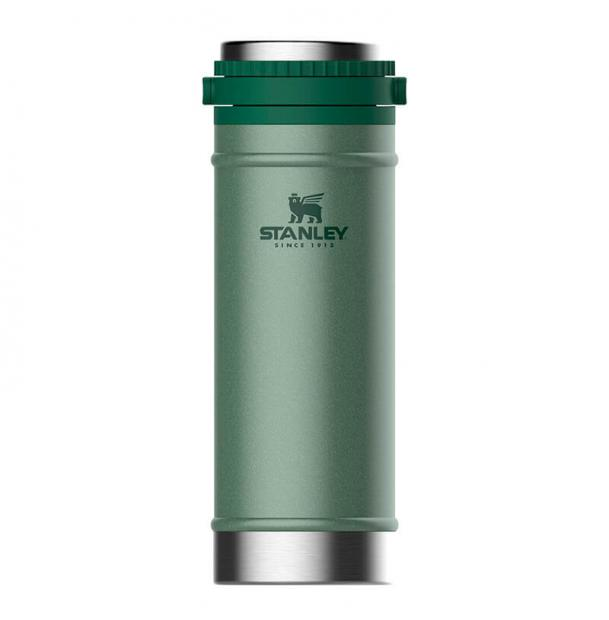 Термос Stanley Classic 0.47L Vacuum Travel Press Hammertone Green