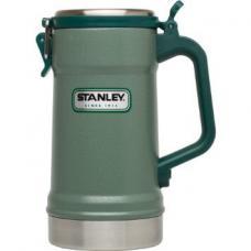 Термокружка Stanley Classic 0.71L Vacuum Stein Hammertone Green