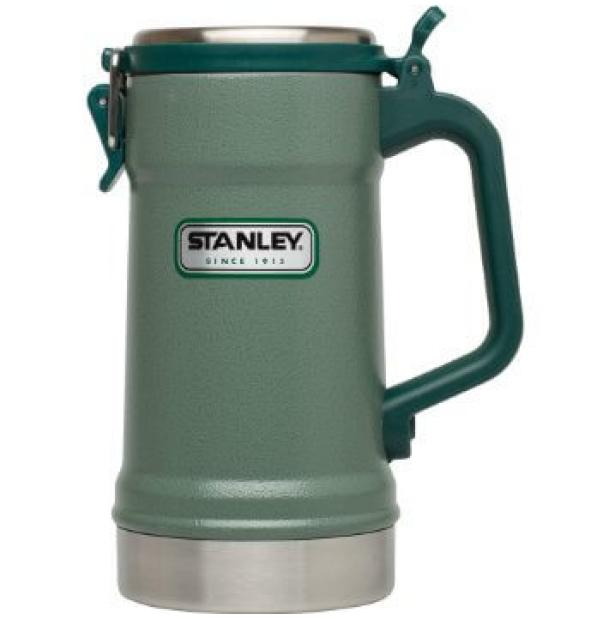 Термокружка Stanley Classic 0.71L Vacuum Stein Hammertone Green 10-02114-002