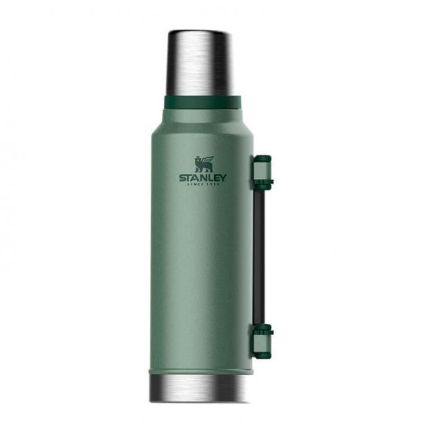 Термос Stanley Classic 1.4L Vacuum Bottle Hammertone Green